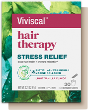 Viviscal™ hair therapy Stress Relief Packaging